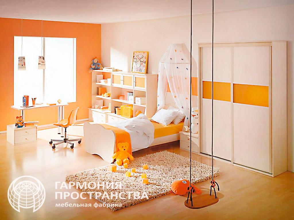 Комплект детской мебели -Апельсинчик