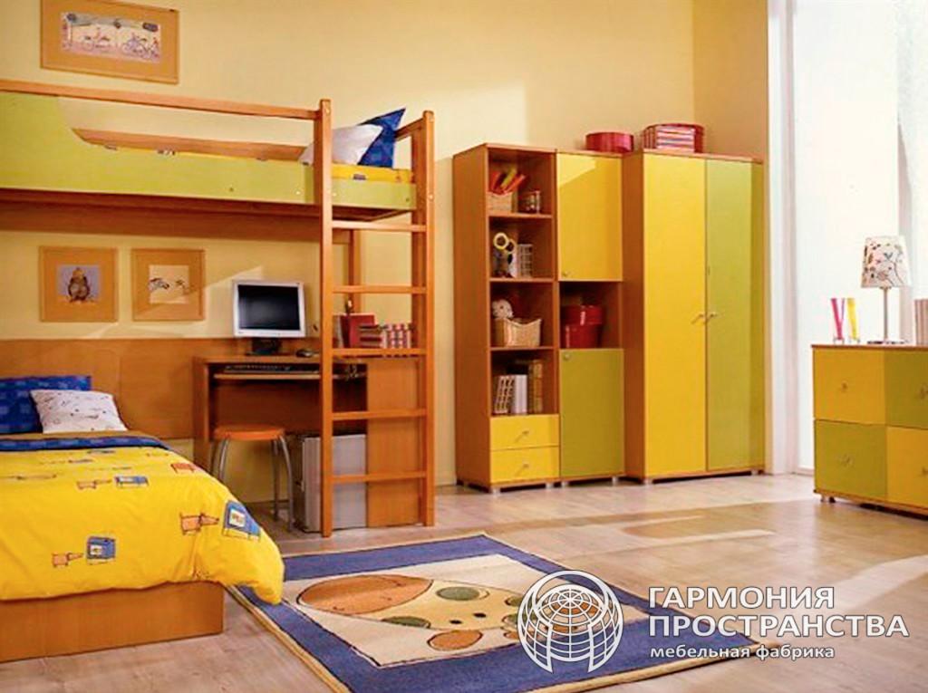 Комплект детской мебели  — Лимончик