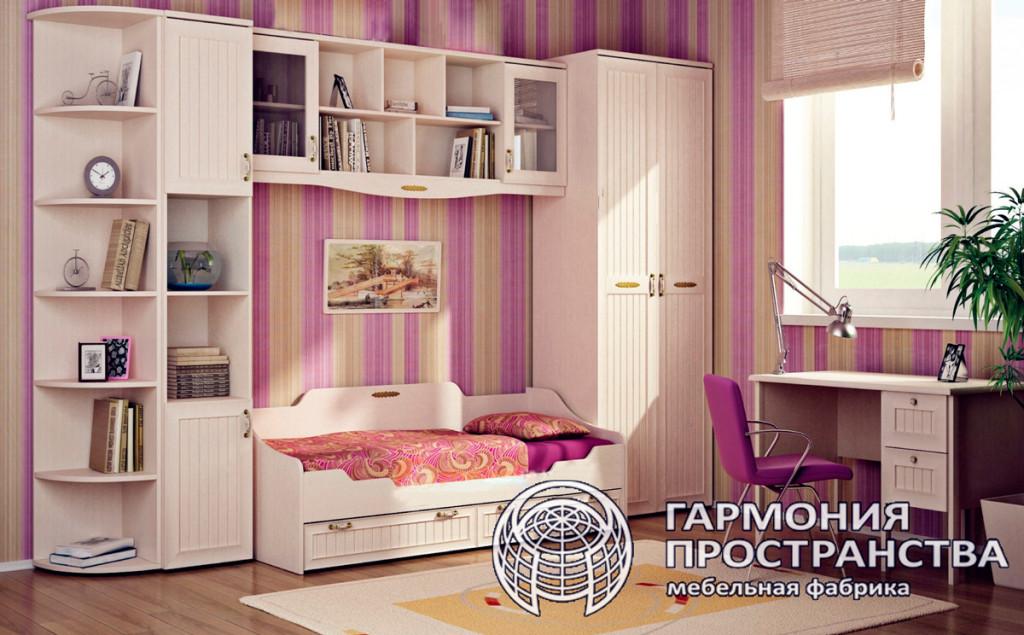 Комплект детской мебели  — Лилия