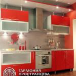 Кухня АМАЛИТА- стильная красная кухня