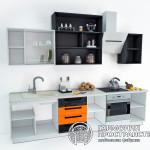 Кухонный гарнитур «Марокко» - базовая комплектация - с открытыми полками