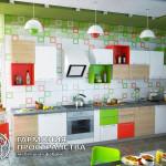 Кухонный гарнитур « Итали » в интерьере