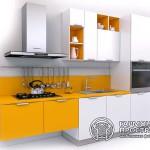 Кухонный гарнитур «Эльба» - в бело-желтой цветовой гамме