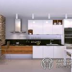 Кухонный гарнитур «Эльба» в интерьере
