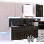Кухонный гарнитур « Рона » - базовая комплектация Бежевая кухня