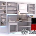 Кухонный гарнитур « Рона » - базовая комплектация с открытыми полками