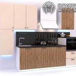 Кухонный гарнитур « Рона » - с закрытыми полками