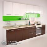 Кухонный гарнитур &laquoМали» - базовая комплектация- с закрытыми полками