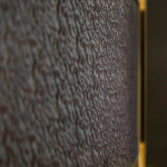 Шкаф-купе белого цвета «Радиус-7» - обшивка дверей