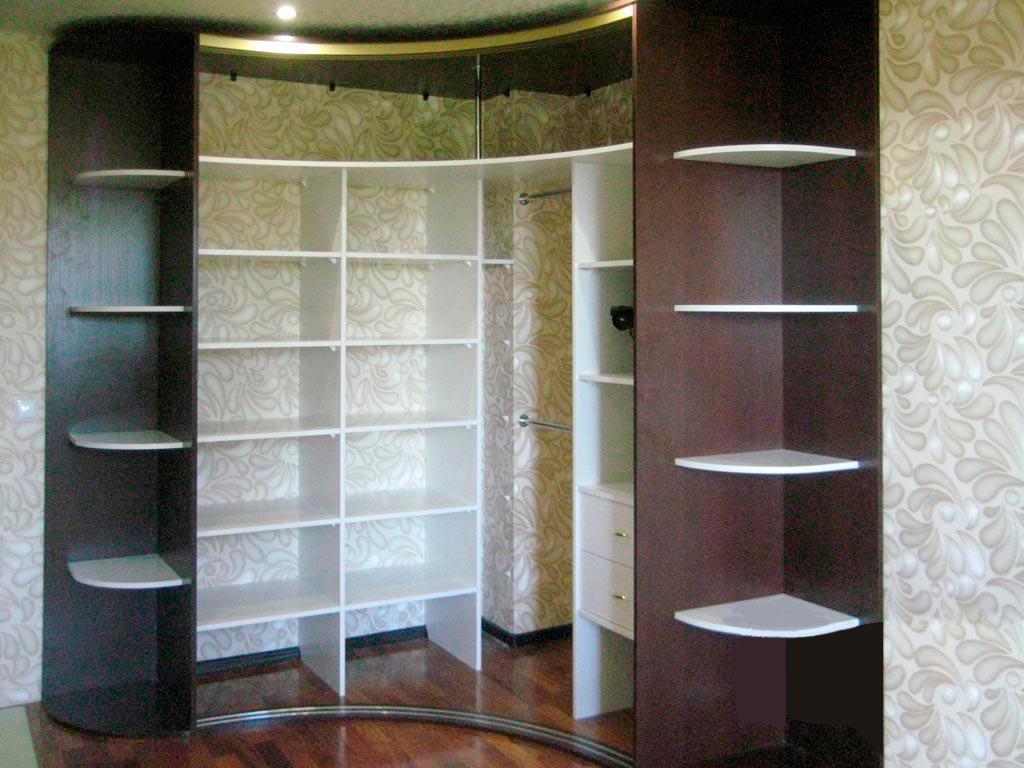 """Радиусные шкафы в гостиную """"радиус-2"""": купить в санкт-петерб."""