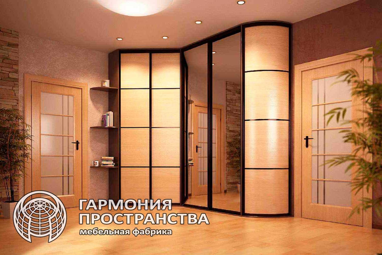 Закругленные шкафы купе - страница 2 - interior.