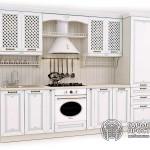 Кухонный гарнитур «Лаура» Базовая комплектацияМолочный цвет