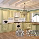 Кухня «Лаура» стиль ПРОВАНС в интерьере