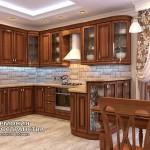Классическая кухня «Римини» в интерьере