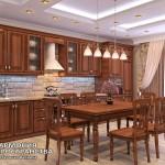 Классическая кухня «Римини» в интерьере | Прямая комплектация