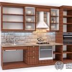 Кухонный гарнитур «Римини» | Базовая комплектация | Вид изнутри