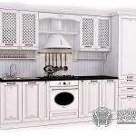 Кухонный гарнитур «Лаура»Базовая комплектация В белом цвете