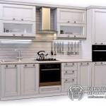 Кухонный гарнитур «Номандия» Стиль Кантри с серыми фасадами