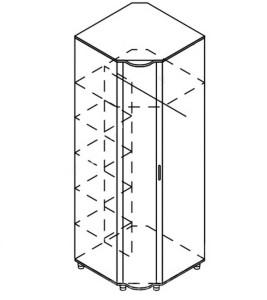 Модуль шкаф угловой «Азалия»