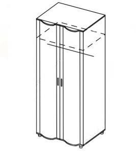 Модуль шкаф универсальный «Азалия»