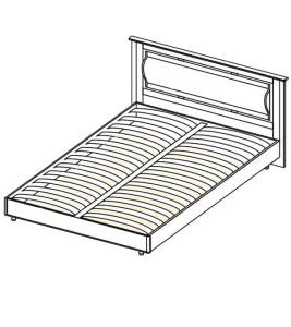 Модуль Кровать 1600 (без матраса) «Азалия»
