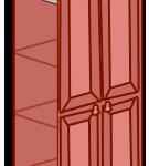 Модуль шкаф «София» темная