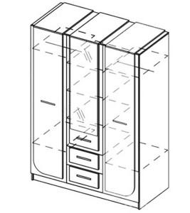 Модуль Шкаф «Флоренция»