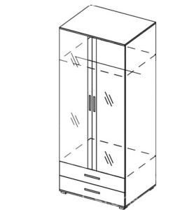 Модуль шкаф «Венеция»