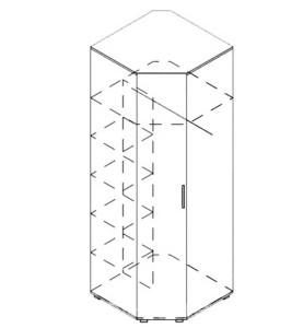 Модуль шкаф угловой «Венеция»