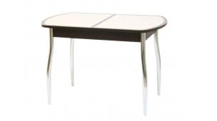 Стол «Гала 13» раздвижной с овальной крышкой